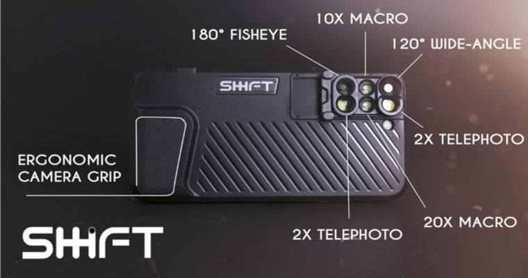 قاب Shiftcam برای آیفون 7 پلاس همراه با 6 لنز