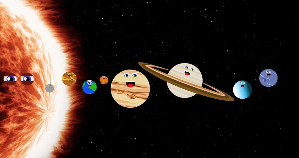 انتشار تصاویری بی نظیر از منظومه شمسی