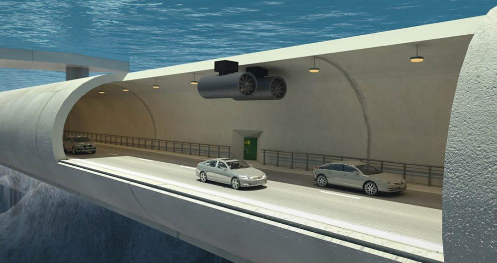ساخت جادهای زیر آب در کشور نروژ + تصاویر