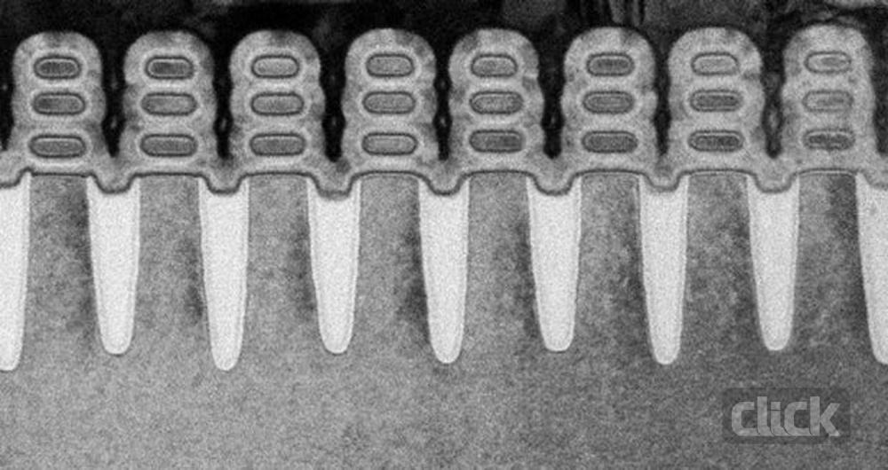 IBM به فناوری ساخت تراشههای 5 نانومتری دست پیدا کرد