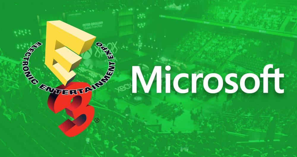 E3 2017: پوشش زنده کنفرانس مایکروسافت