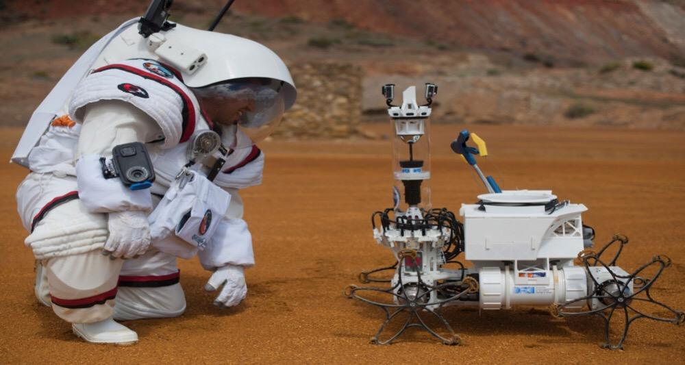 تجربه رژیم غذایی مریخ در زیر آب