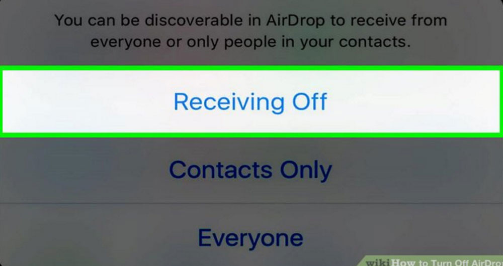 چگونه برنامه Airdrop را به طور کامل از لیست اقدامات iOS حذف کنیم؟