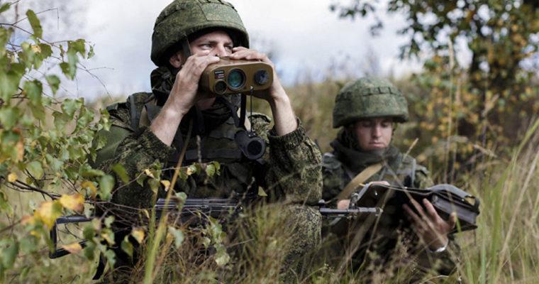شنل نامرئی سربازان روسی