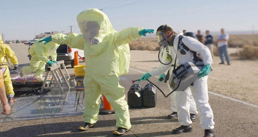 پارچه ای با ویژگی خنثی سازی اثر تسلیحات شیمیایی