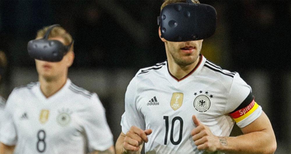 واقعیت مجازی تیم فوتبال آلمان