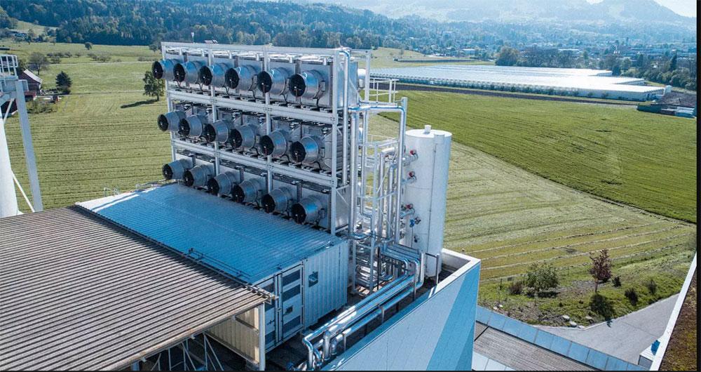 ساخت اولین دستگاه کربن گیر هوای جهان در سوییس