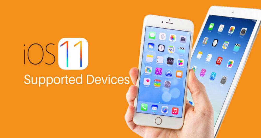 لیست دستگاه های سازگار با iOS 11