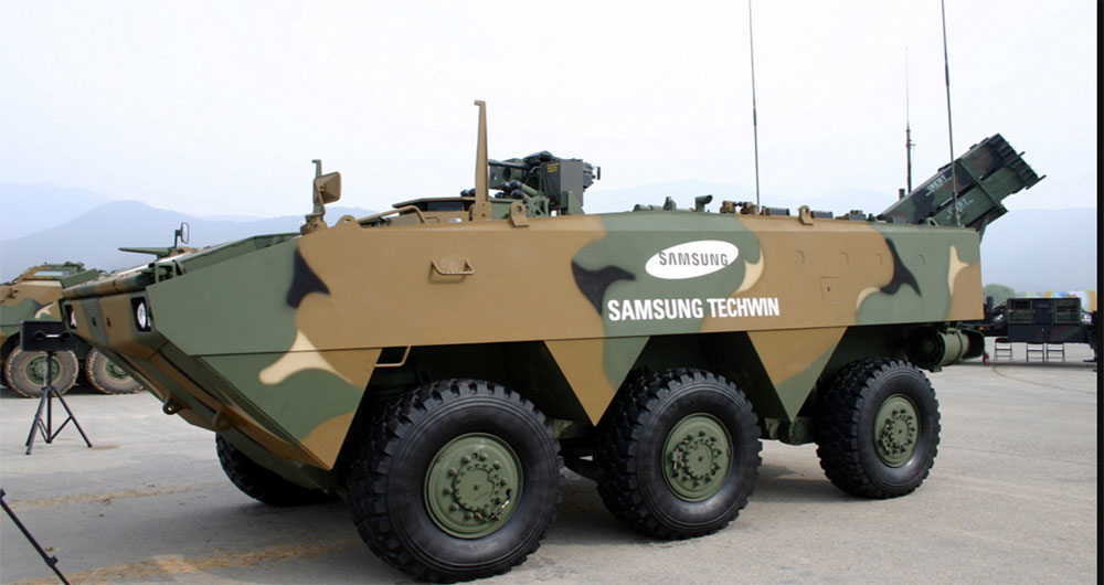 فعالیت نظامی سامسونگ