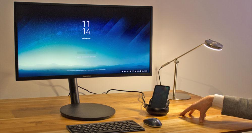 تبدیل گلکسی S8 به یک رایانه شخصی شگفت انگیز توسط Dex