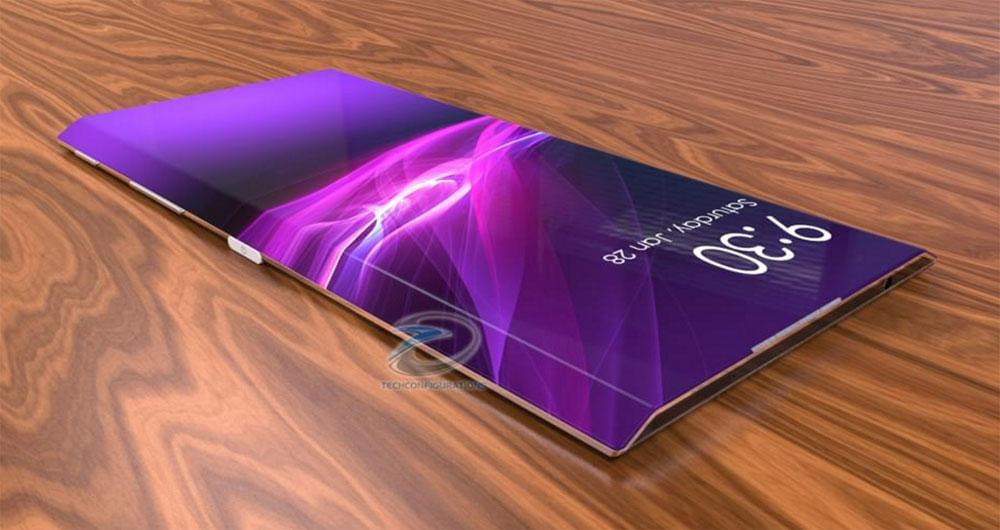 انتشار طرح مفهومی فوق العاده زیبا از گوشی سونی Xperia Edge