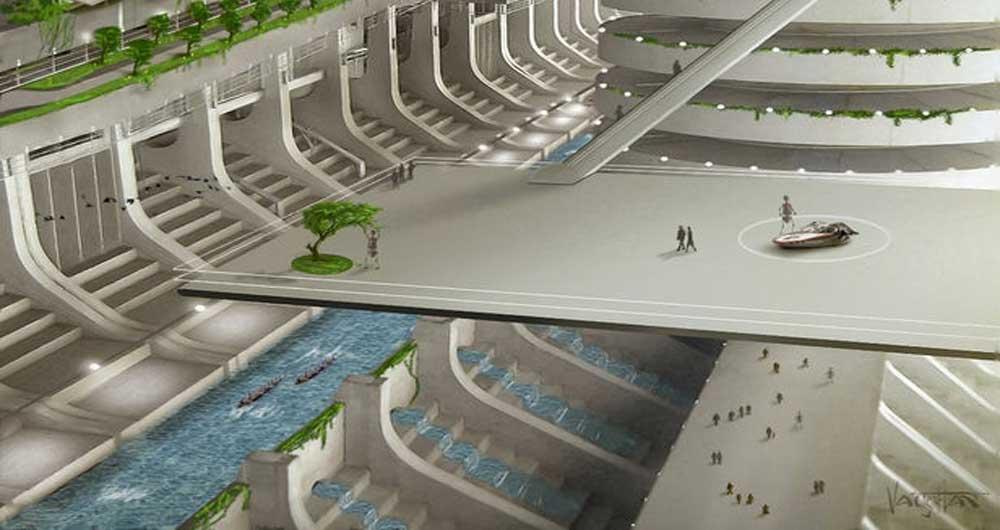 ثبت نام ۲۰۰ هزار نفر برای زندگی در اولین ملت فضایی موسوم به آسگاردیا