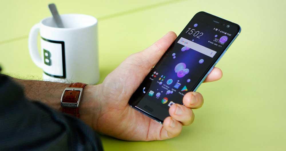 Edge Sense، یک فناوری منحصر به فرد در گوشی HTC U11