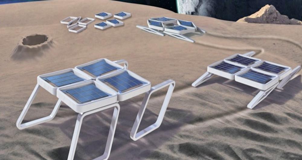 ساخت رباتهایی بدون موتور، مناسب برای کاوشهای فضایی