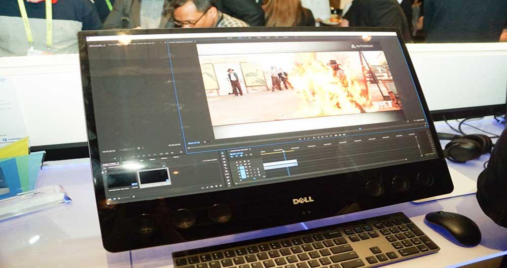 کامپیوتر دسکتاپ لینوکس Dell 5720 AIO