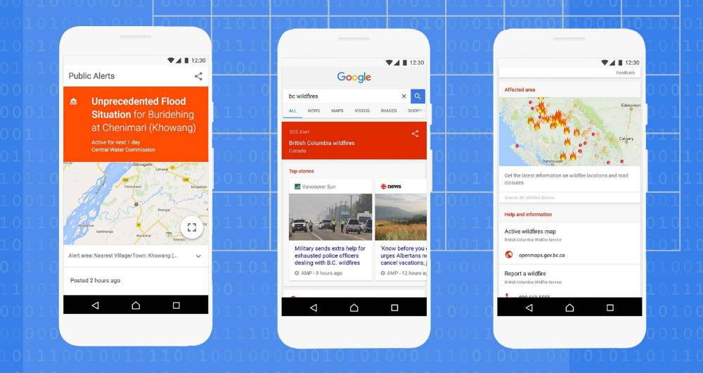 تلاش گوگل برای برقراری امنیت در شرایط بحرانی