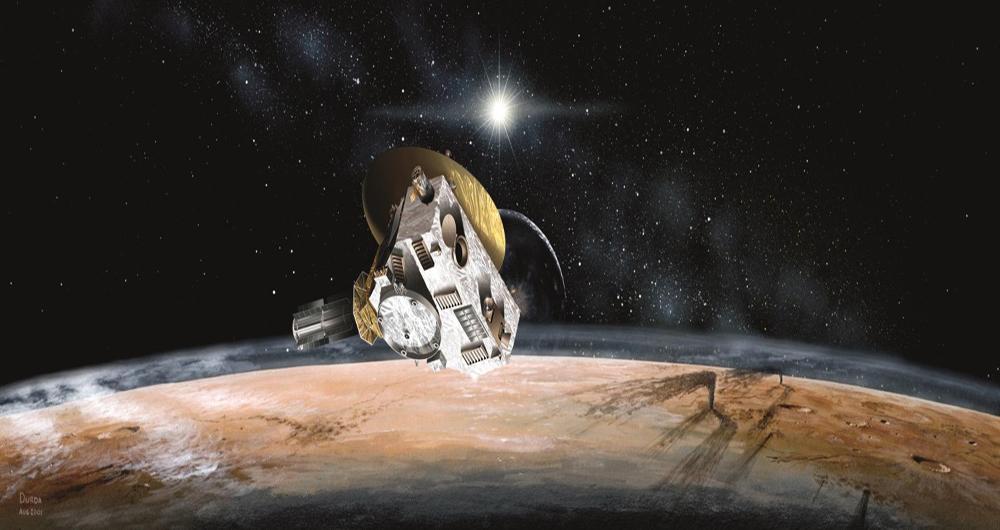 2014 MU69 هدف فضاپیمای New Horizon