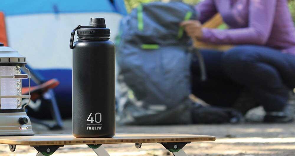 Takeya و تولید بطری آبی که ۲۴ ساعت خنک میماند