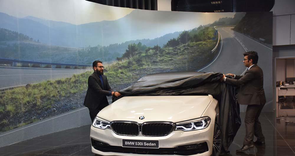 BMW 530i در پرشیا خودرو رونمایی شد
