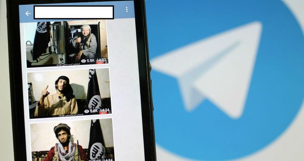 تلگرام، پل ارتباطی حمله به تهران