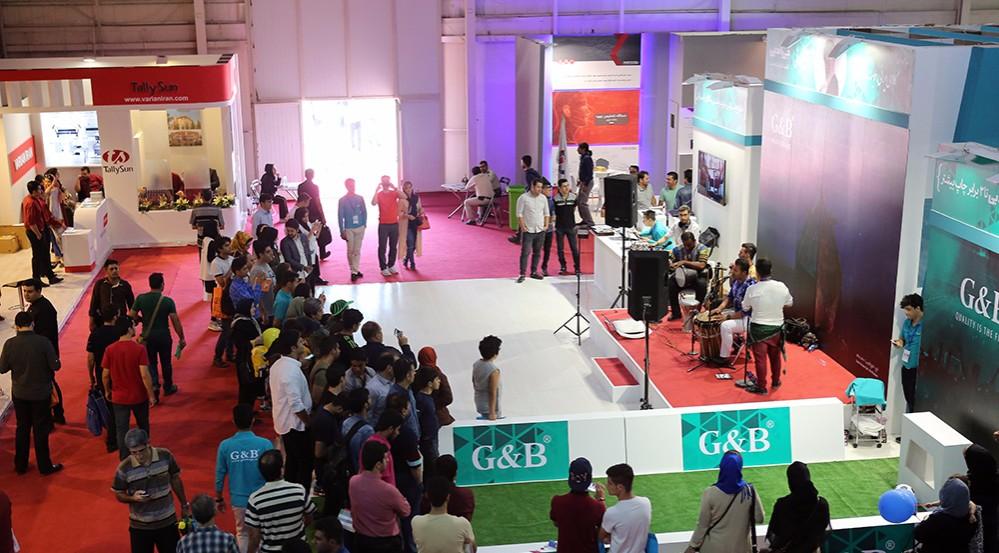 گزارش تصویری: اولین روز نمایشگاه بینالمللی الکامپ