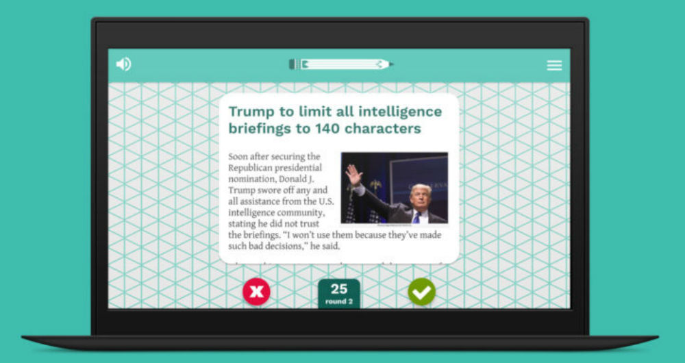 بازی کنید: تشخیص خبرهای دروغ از راست