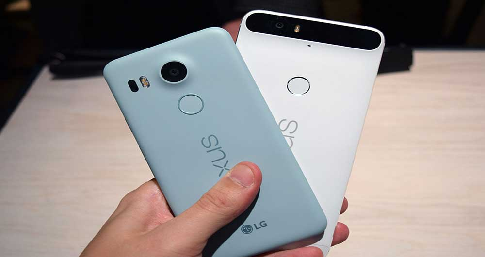 Nexus 5x و Nexus 6P