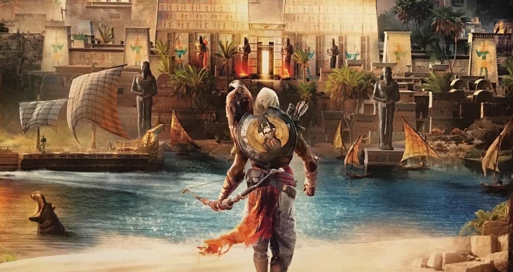اطلاعاتی جدید از جهان Assassin's Creed Origins منتشر شد