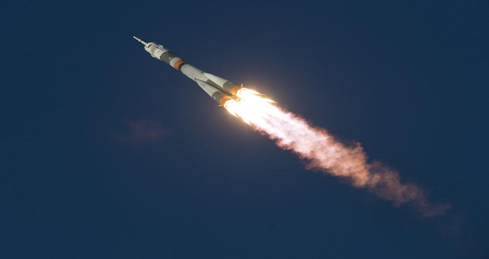 ثبت لحظه طلایی پرتاب راکت سایوز