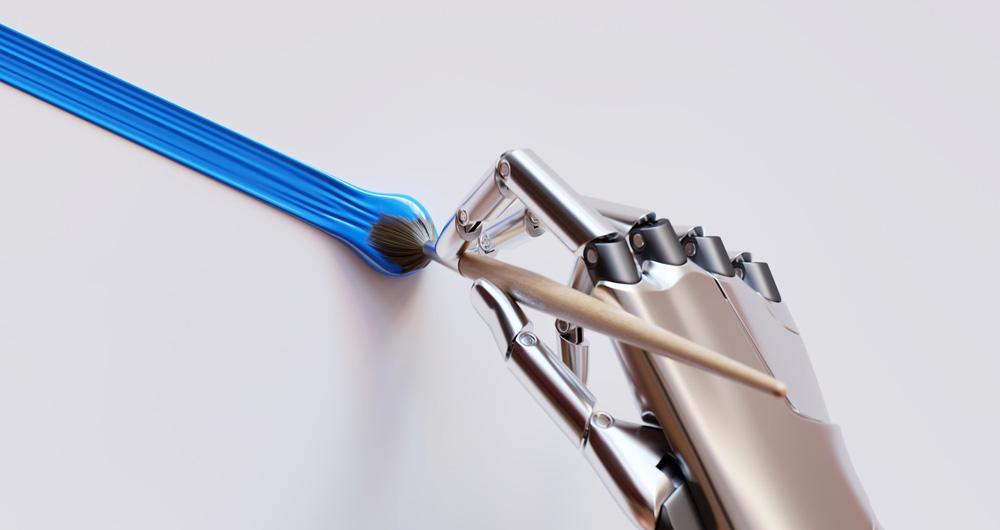 رباتهای هنرمند از حق کپیرایت بهرهمند میشوند