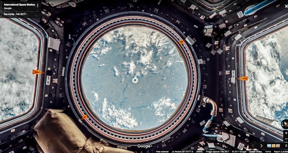 سفر به ایستگاه فضایی بینالمللی با Street View گوگل