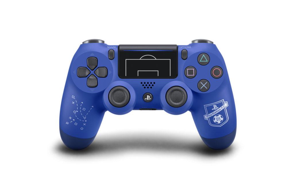 عرضه کنترلر جدید پلی استیشن ۴ این بار با طرح فوتبالی!