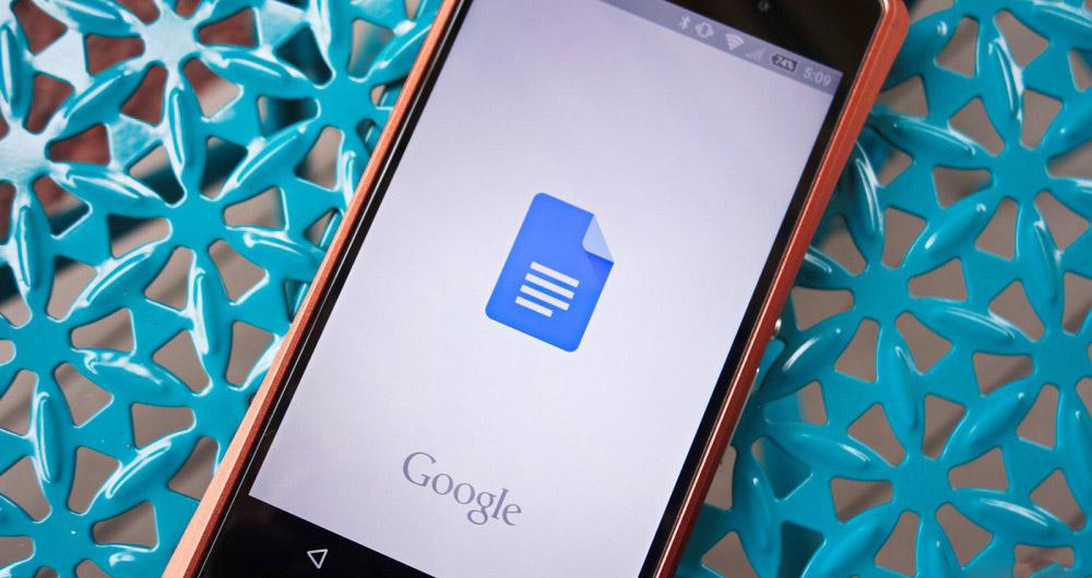پوستاندازی «گوگل داکس» در نسخه جدید