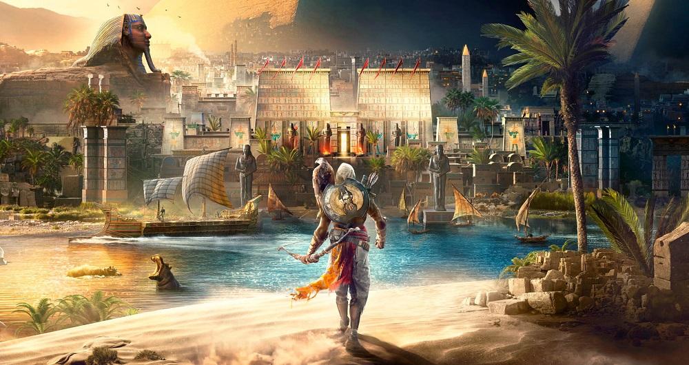 نقشه کامل بازی Assassin's Creed Origins را مشاهده کنید