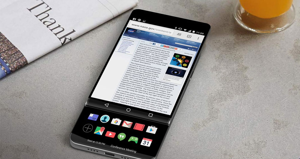 گوشی LG V30 مجهز به سیستم پخش صدای Hi-Fi Quad DAC خواهد بود
