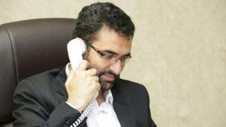 وزیر ارتباطات پیام تبریک
