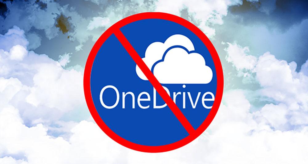 حذف OneDrive
