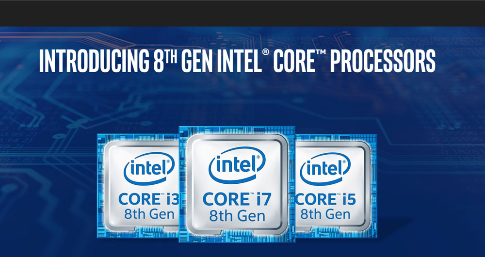 پردازنده های نسل هشتمی اینتل Core i