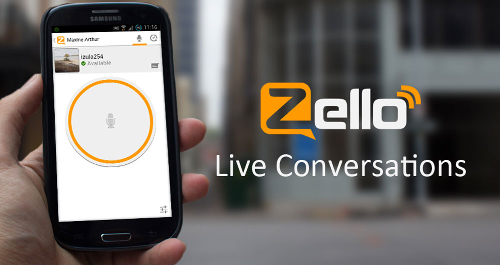اپلیکیشن Zello