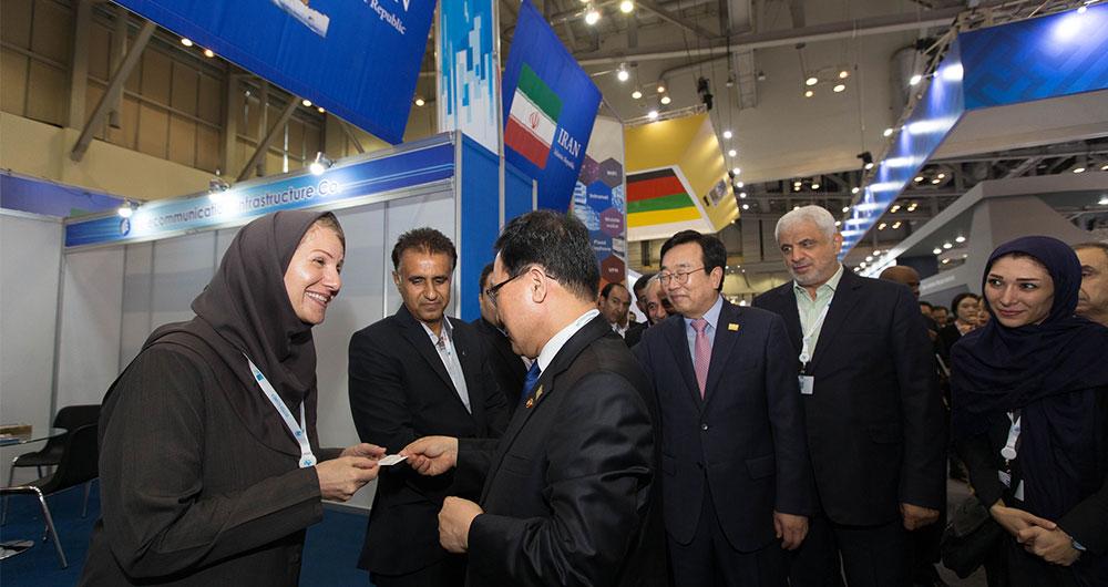 شرکت های ایرانی در نمایشگاه تلکام