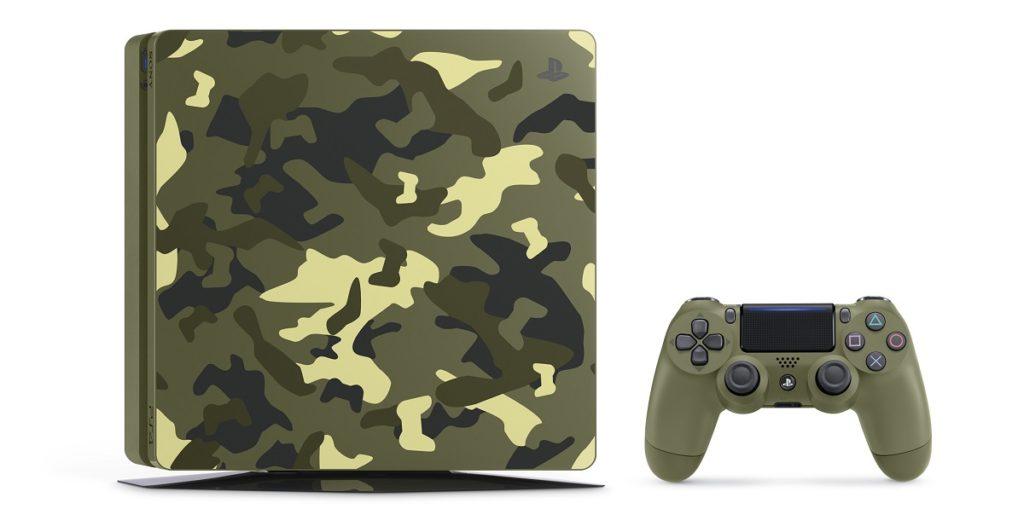 کنسول PS4 با طرح Call of Duty: WWII