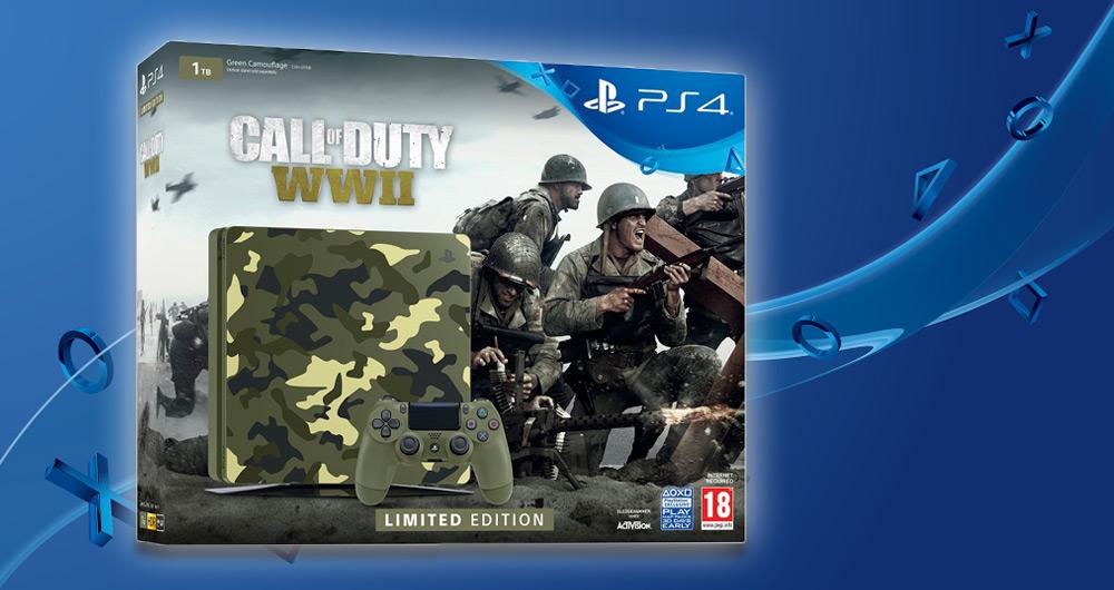کنسول PS4 با طرح Call of Duty: WWII رونمایی شد