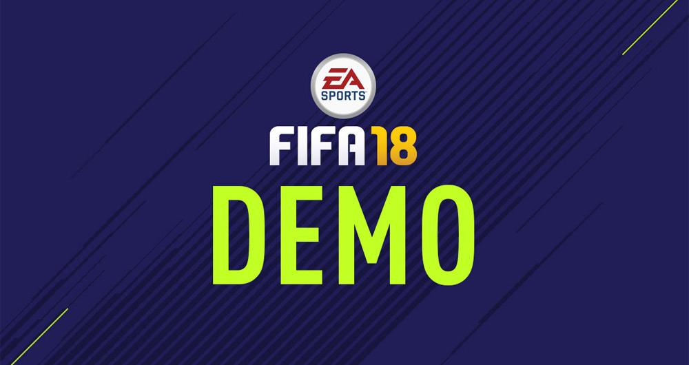 نسخه دمو FIFA 18