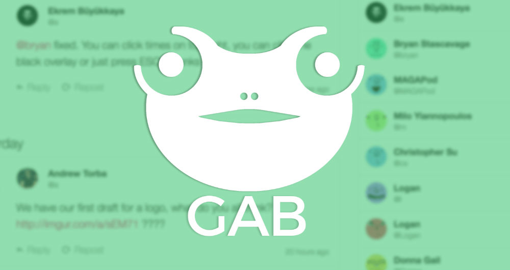 رسانه اجتماعی Gab