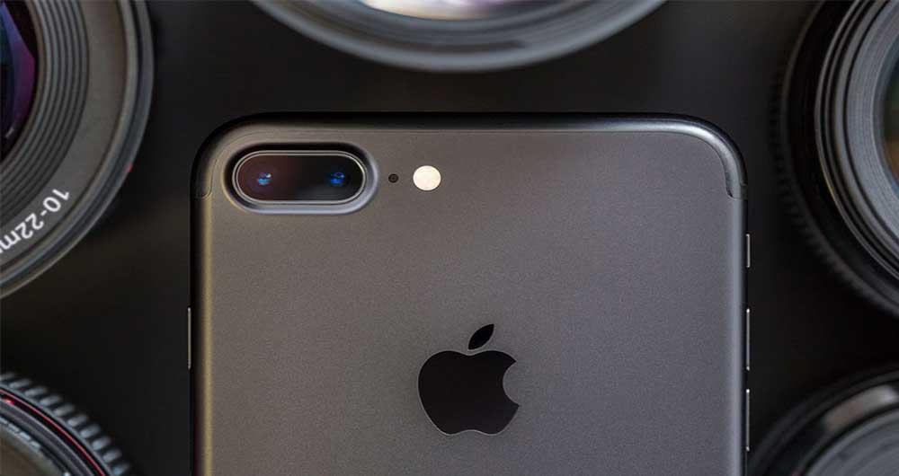 دوربین گوشی آیفون 8