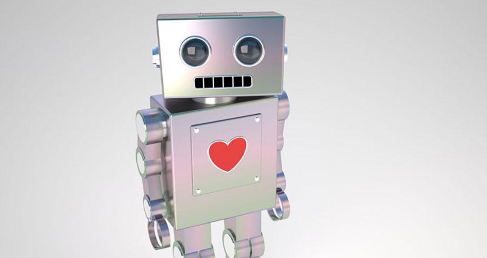 ربات رابطه عاشقانه