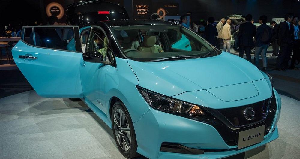 ۲۰۱۸ Nissan Leaf
