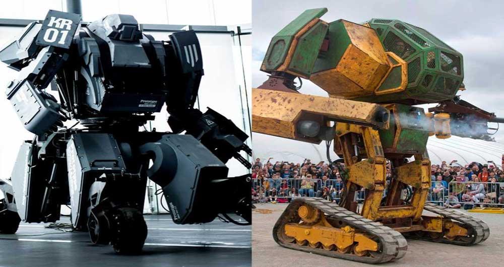ربات های عظیم الجثه جنگی