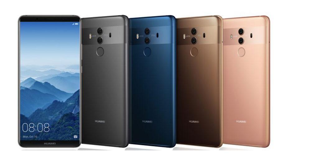 Huawei Mate 10 در رویداد هواوی به طور رسمی معرفی شد