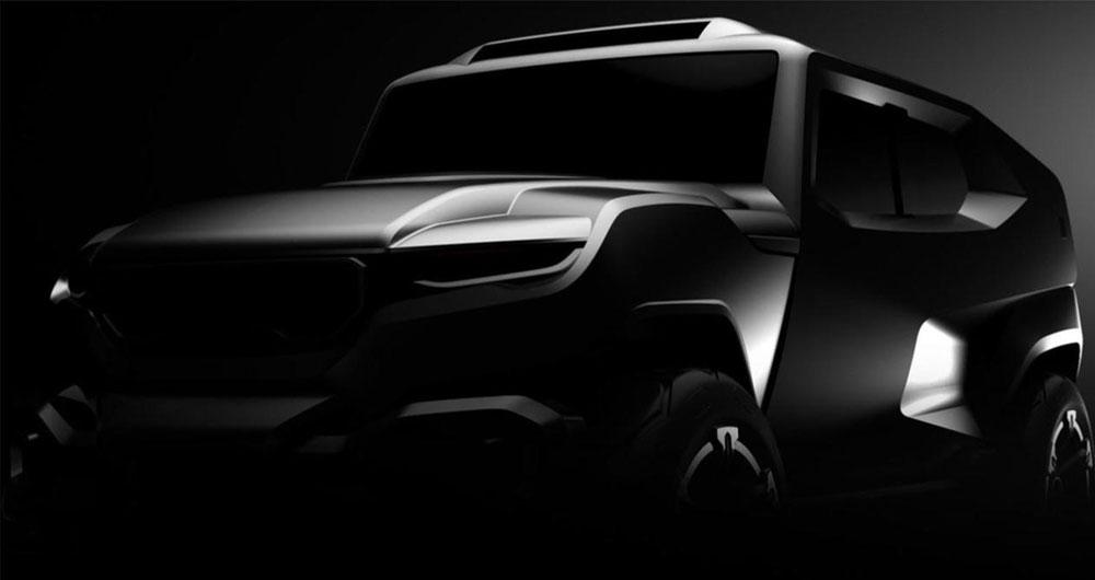 خودرو تانک رضوانی موتورز دارای موتور قدرتمند و دوربین دید در شب است